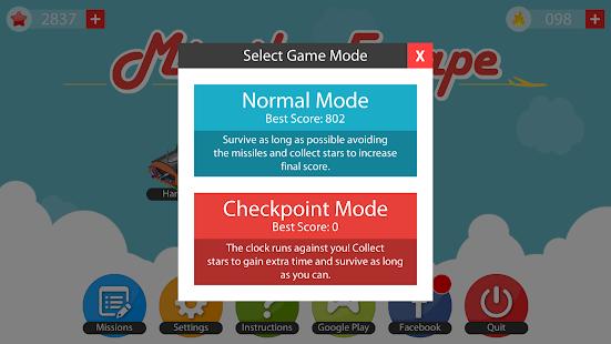 Missile Escape v1.4.0