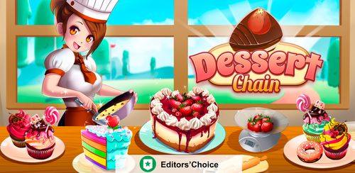 Dessert Chain: Café Waitress & Restaurant Chef v0.8.29