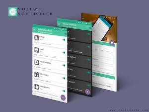 تصویر محیط Volume Scheduler v1.15