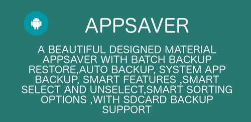 Appsaver Pro v42.0