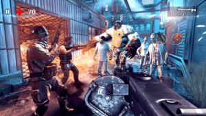 تصویر محیط UNKILLED – Zombie FPS Shooting Game v2.0.5 + data