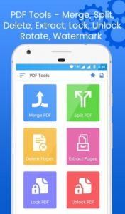 تصویر محیط PDF Tools – Merge, Rotate, Split & PDF Utilities v1.9