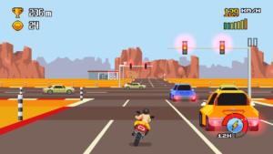 تصویر محیط Retro Highway v1.0.44