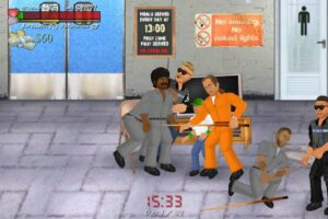 تصویر محیط Hard Time (Prison Sim) v1.431