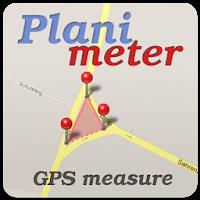 نرم افزار اندازه گیری مساحت با GPS آیکون