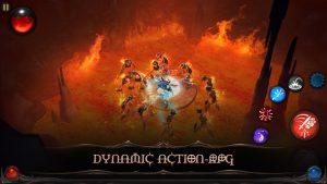 تصویر محیط Blade Bound: Hack and Slash of Darkness Action RPG v2.2.4 + data
