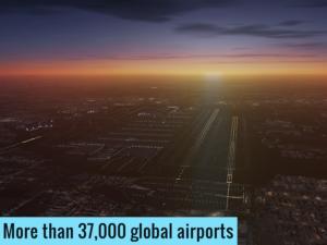 تصویر محیط X-Plane Flight Simulator v11.1.0