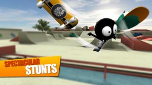 تصویر محیط Stickman Skate Battle v2.3.3
