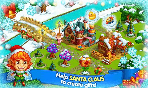 Farm Snow Happy Christmas Story With Toys & Santa v1.52