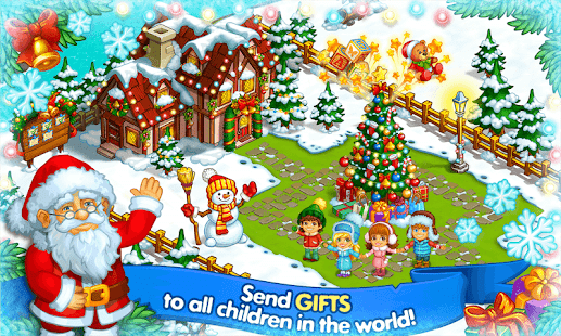 Farm Snow Happy Christmas Story With Toys & Santa v1.52