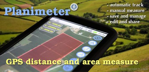 Planimeter – GPS area measure | land survey on map v5.3.1‏