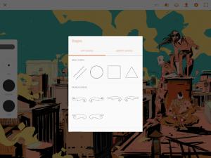 تصویر محیط Adobe Illustrator Draw v3.7.11
