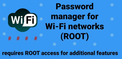 Wi-Fi password manager v2.6.7