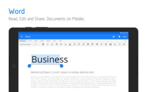 تصویر محیط Polaris Office – Word, Docs, Sheets, Slide, PDF v7.6.5 build 143