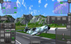 تصویر محیط Turboprop Flight Simulator 3D v1.26.2