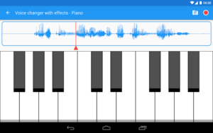 تصویر محیط Voice changer with effects Premium v3.5.7