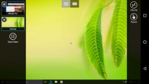 تصویر محیط Microsoft Remote Desktop v10.0.11.1137