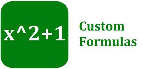 Custom Formulas v5.2