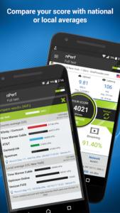 تصویر محیط Speed test 3G, 4G LTE, WiFi & network coverage map v2.4.7