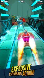 تصویر محیط Agent Dash – Run Fast, Dodge Quick! v5.4.1_956