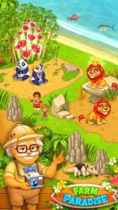 تصویر محیط Farm Paradise – Fun farm trade game at lost island v2.19