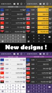 تصویر محیط Currency Converter Plus v4.8.1