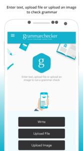 تصویر محیط English Grammar Spell Check – Auto Correct v4.13