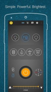 تصویر محیط Amazing Flashlight v2.4