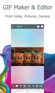 تصویر محیط Video2me: Video Editor, Gif Maker, Screen Recorder v1.6.2