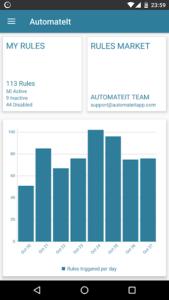 تصویر محیط AutomateIt Pro – Automate tasks on your Android v4.0.254