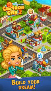 تصویر محیط Cartoon City 2:Farm to Town.Build your home,house v2.22