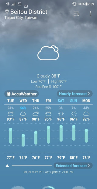 ASUS Weather v5.0.0.80