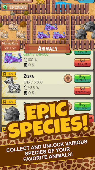 Idle Tap Zoo: Tap, Build & Upgrade a Custom Zoo v1.1.5