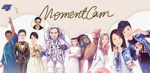 MomentCam Cartoons & Stickers v5.0.5