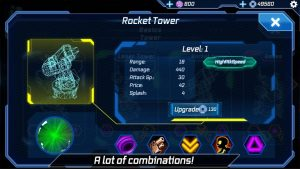 تصویر محیط Sci Fi Tower Defense. Module TD v1.83