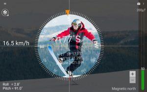 تصویر محیط Smart Compass Pro v2.7.3