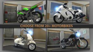 تصویر محیط Traffic Rider v1.61