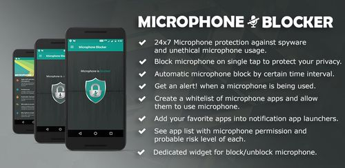 Microphone Blocker – Anti Spyware Pro v1.3.1