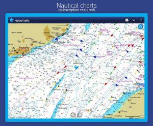تصویر محیط MarineTraffic ship positions v3.9.56