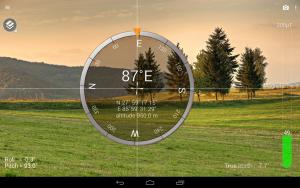 تصویر محیط Smart Compass Pro v2.7.1a