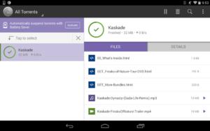 تصویر محیط BitTorrent® Pro – Torrent App v6.6.0