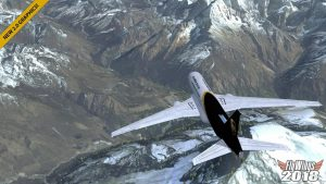 تصویر محیط Flight Simulator 2018 FlyWings Full v2.2.4 + data