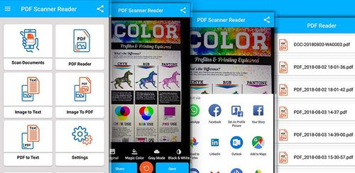 PDF Scanner : PDF Reader, Document Scanner, OCR v1.0.0