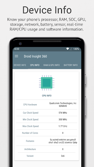 Droid Insight 360:File & App Manager,Device Info PRO v2.2