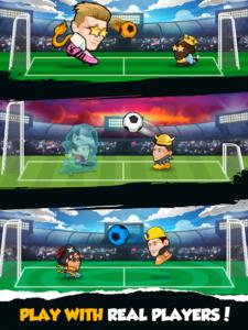 تصویر محیط Online Head Ball v32.13