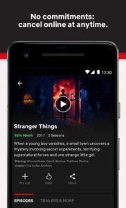 تصویر محیط Netflix v7.98.0