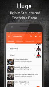 تصویر محیط GymUp Workout Notebook PRO v10.40