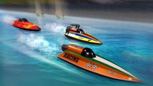 تصویر محیط Speed Boat Racing : Racing Games v1.5