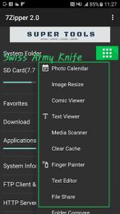 تصویر محیط 7Zipper 2.0 v2.9.6