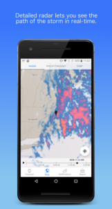 تصویر محیط Dark Sky – Hyperlocal Weather v2.2.2